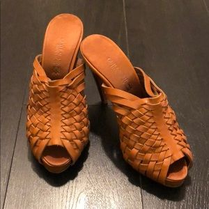 Guillaume Hinfray leather Sandals